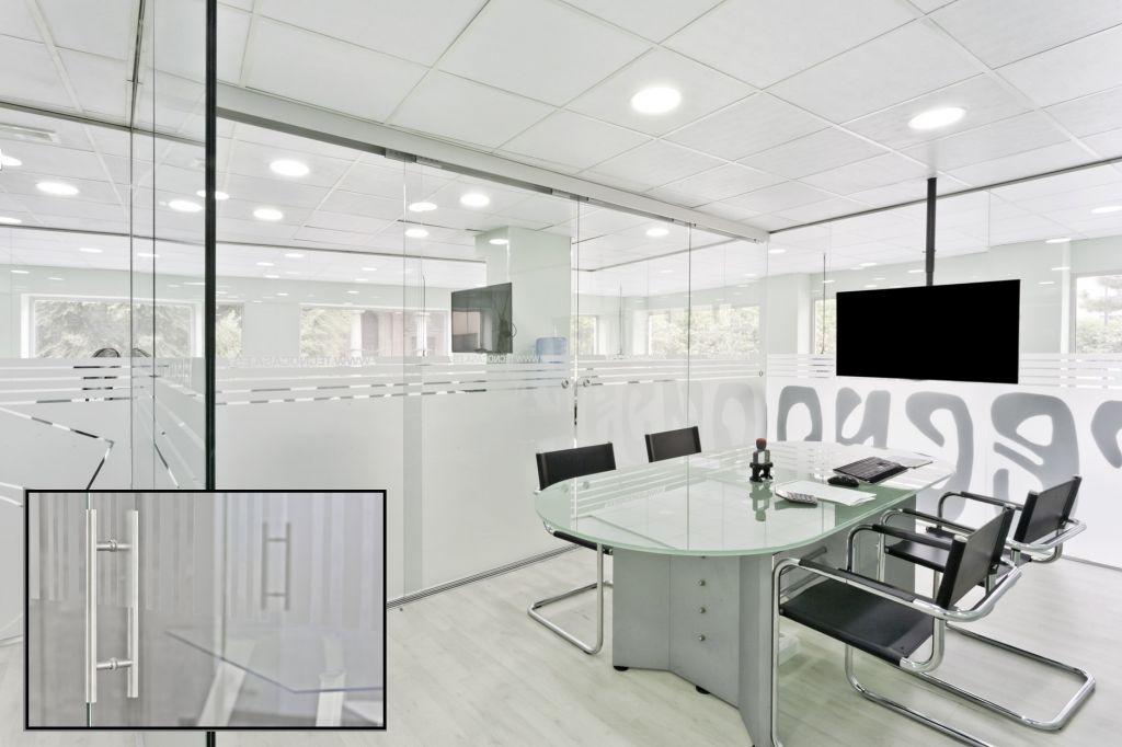 Mamparas de oficina la cristaler a de m laga - Oficinas bankia malaga ...